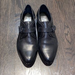 Dolce Vita black leather loafers